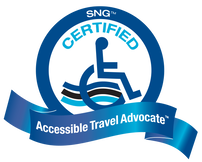 tlc travel, Certified Accessible Travel Advocate logo